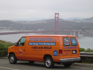 Fire Damage Restoration Response Vehicle