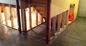 First Floor Water Damage Restoration